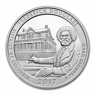 5 Unzen USA District of Columbia America the beautiful Frederick Douglas 2017