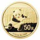 1/10 Unze Gold China Panda 2014 in Original-Folie