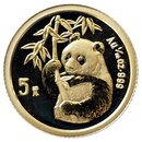 1/20 Unze Gold China Panda 1995