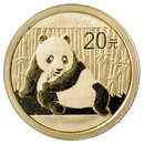 1/20 Unze Gold China Panda 2015 in Original-Folie