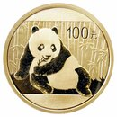 1/4 Unze Gold China Panda 2015 in Original-Folie