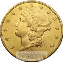 20 Dollar Gold Double Eagle USA Liberty Head Eagle div...