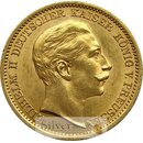 20 Mark Gold Preussen Wilhelm II