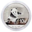 1 Unze China Panda 2014 gekapselt