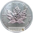 1 Unze Maple Leaf 1988 in Folie