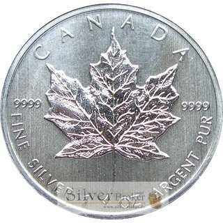 1 Unze Maple Leaf 1992