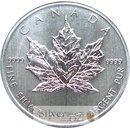 1 Unze Maple Leaf 2007