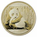 1 Unze Gold China Panda 2015 in Original-Folie