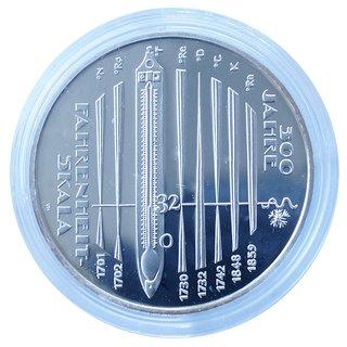 10 Euro Deutschland 2014 300 Jahre Fahrenheit Skala Pp 1800